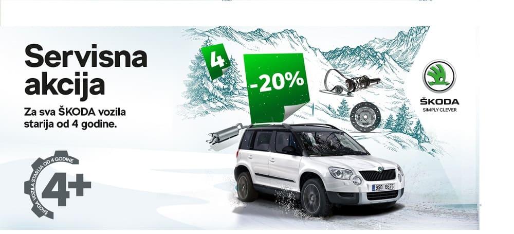 Posebne pakete za Škoda vozila starija od četiri godine potražite u 'A-Klinika' u Vitezu