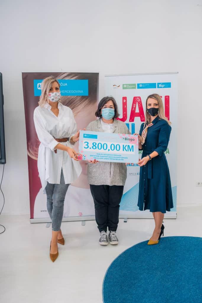 Bh. planer za žene CHICovnik i trgovački lanac Bingo donirali 3.800 KM