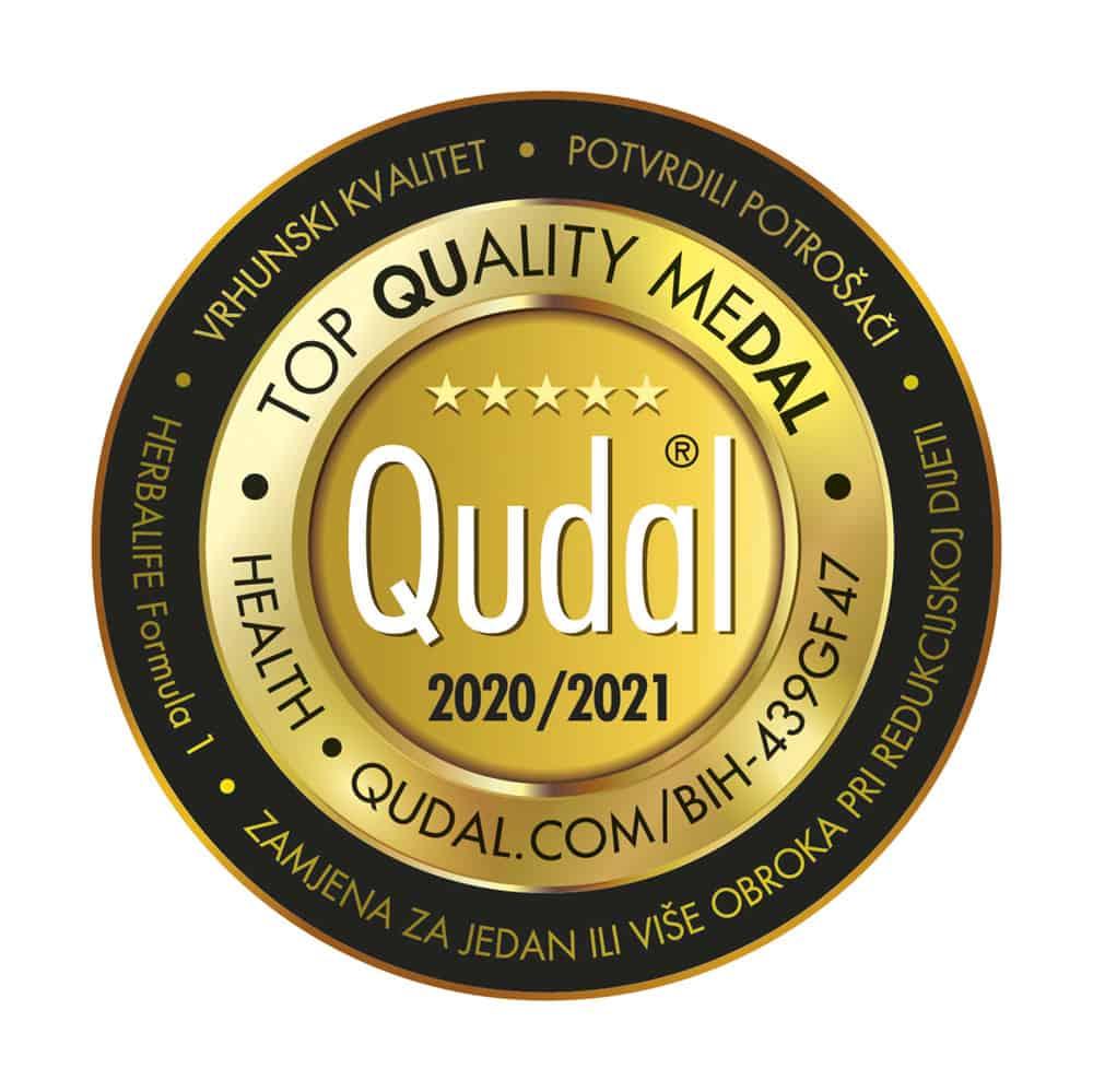 Prema izboru bh. potrošača: QUDAL – certifikat kvaliteta za Herbalife Nutrition