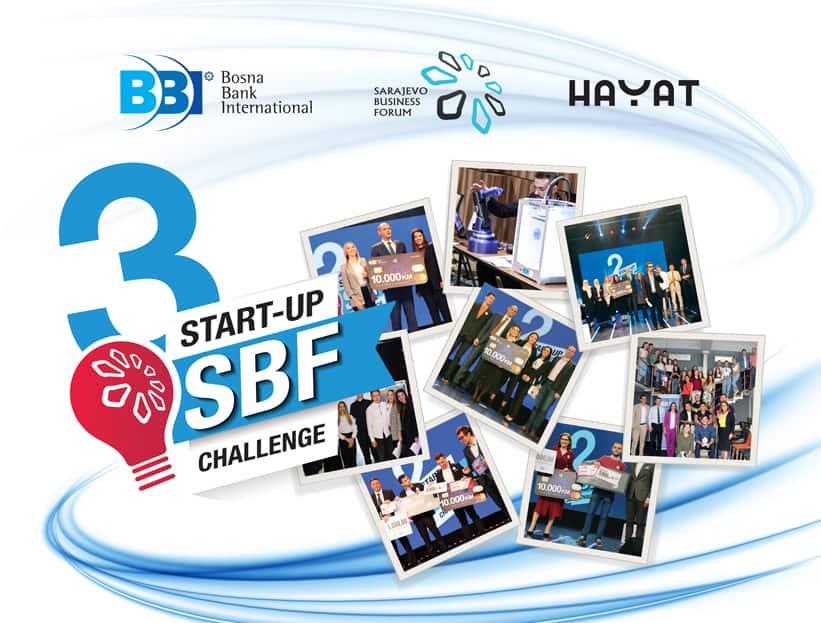 SBF START UP CHALLENGE vijest