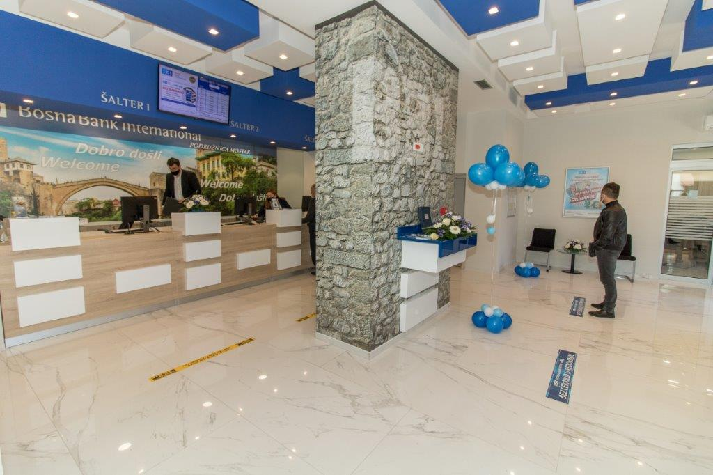 Podružnica BBI banke u Mostaru od danas na Musali