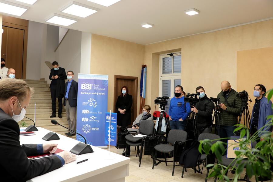 BBI banka i Vlada Kantona Sarajevo - 42,5 miliona KM za privrednike