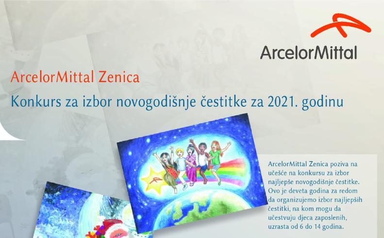ArcelorMittal Zenica Konkurs za izbor novogodišnje čestitke za 2021. godinu