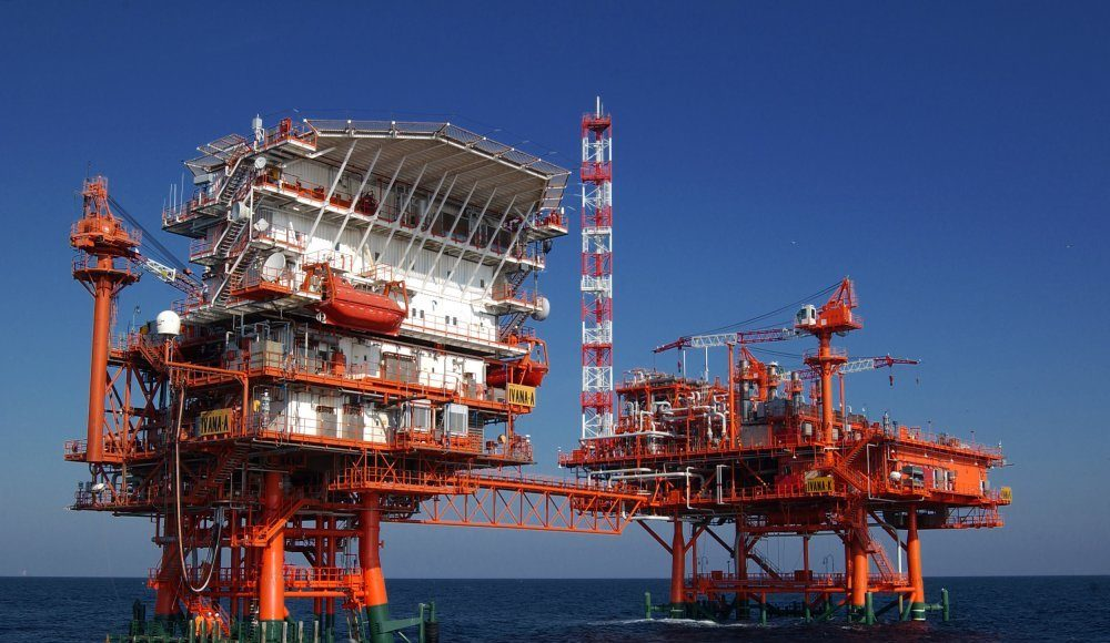 Rad na naftnoj platformi