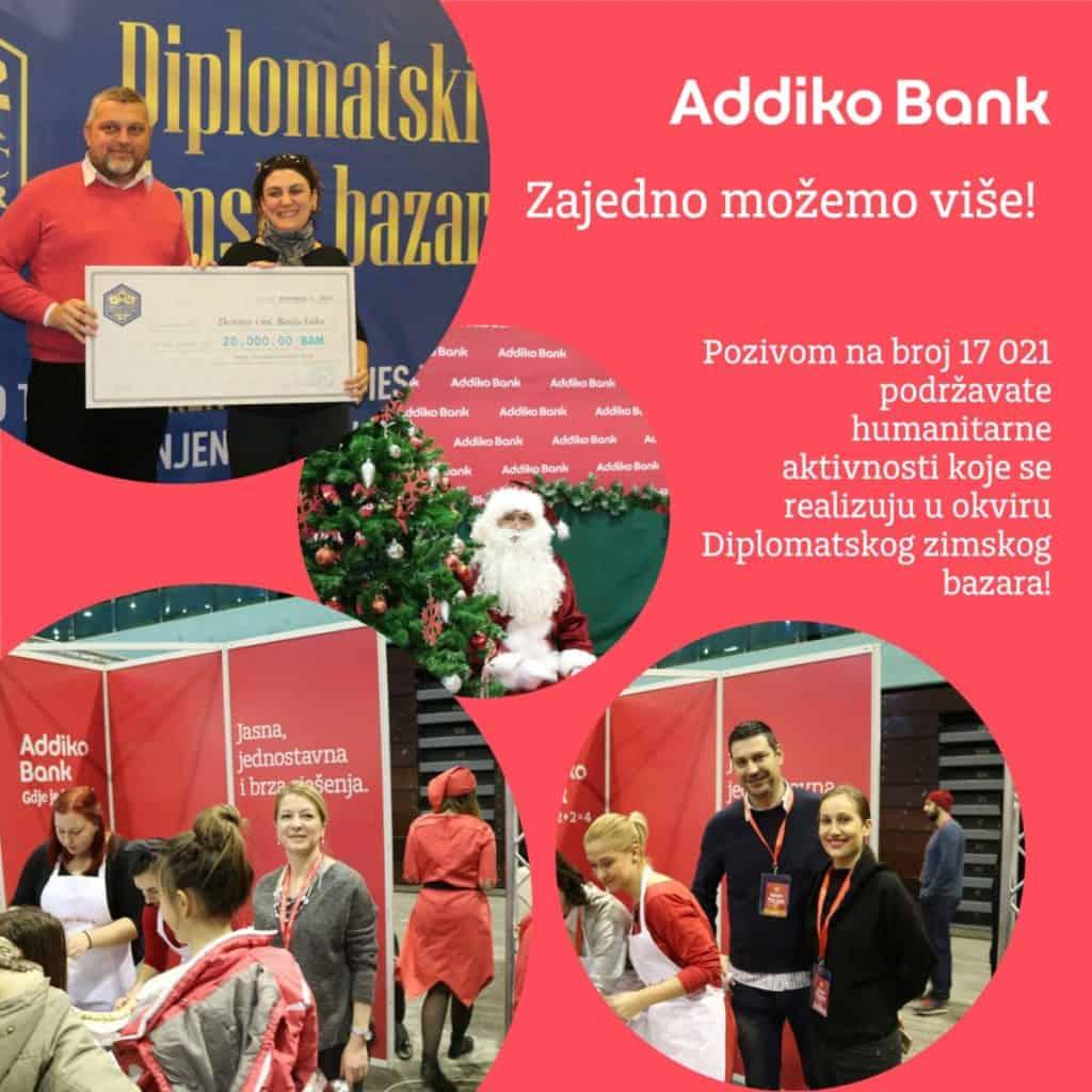 Podrška Addiko banke Diplomatskom bazaru