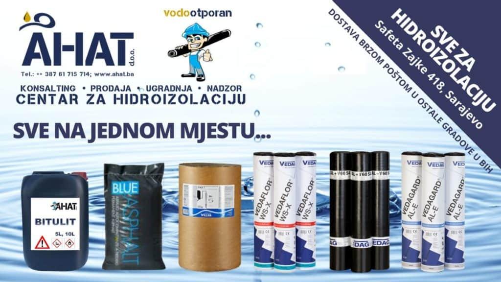 Centar za hidroizolaciju jedinstveni specijalizirani centar na području BiH