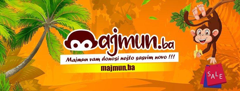 Majmun.ba / Novi web shop sa artiklima vrhunske kvalitete!
