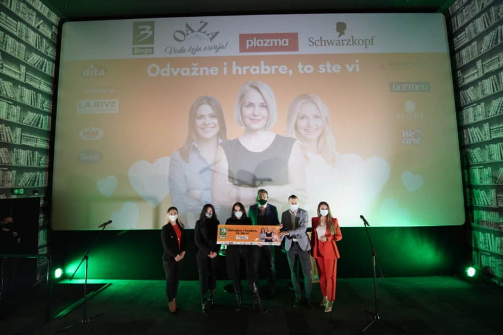 """Bingo i partneri dodijelili grantove ženama za pokretanje biznisa u okviru projekta """"Odvažne i hrabre, to ste vi!"""""""