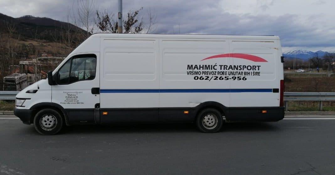 Mahmić transport iz Zenice