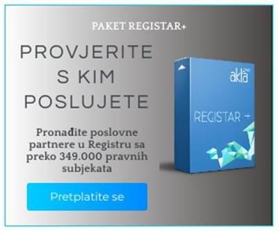 Koristite li Akta Registar?