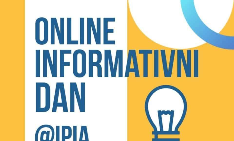 SREDNJOŠKOLCI OVO JE ZA VAS – IPI Akademija organizuje online informativni dan