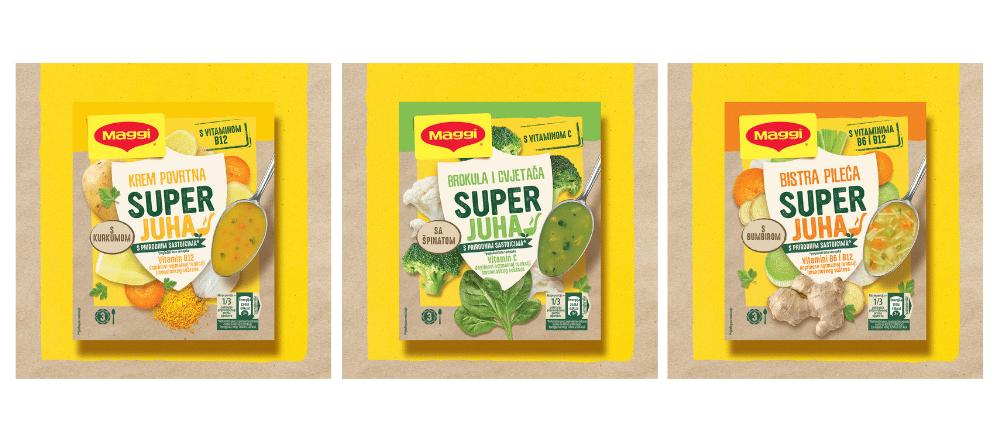 MAGGI predstavio nove, ukusne supe obogaćene vitaminima