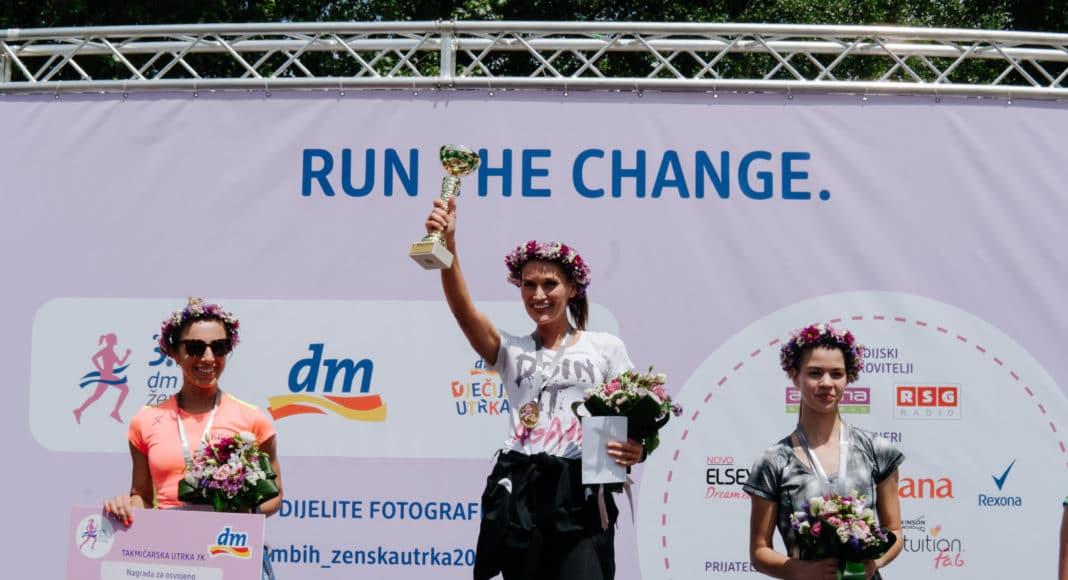 Podrška razvoju dječijeg sporta, povodom 4. dm ženske utrke dm donira 10.000 KM dječijim sportskim udruženjima i klubovima
