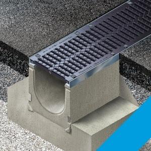Betonske kanalice pomoći će za odvodnju vode s poslovnih površina