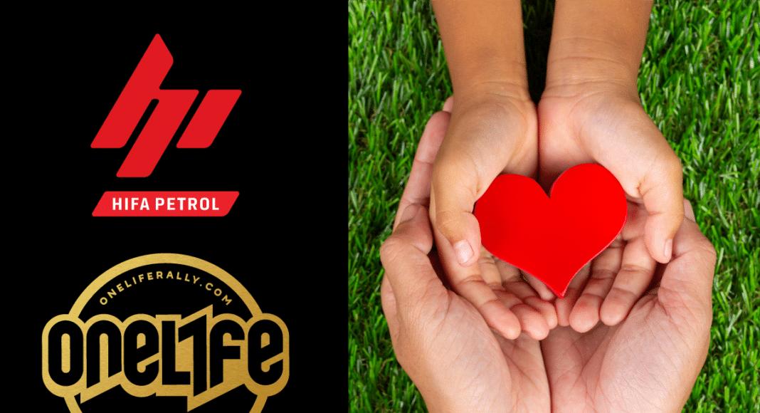 """Humanost na djelu/ OneLife Rally i Hifa Petrol doniraju sredstva udruženju """"Srce za djecu"""""""
