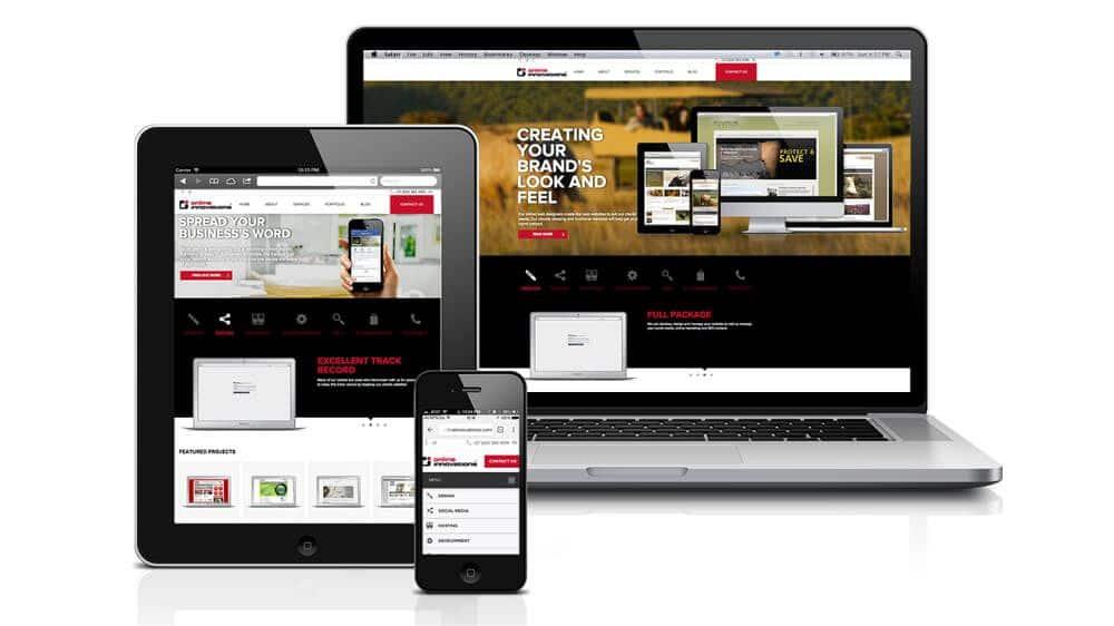 responsive web sajt