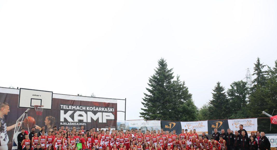 Svečano završen Telemach košarkaški kamp Bjelašnica 2021.