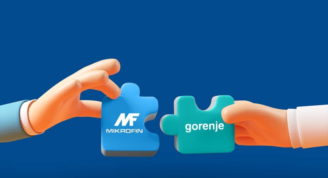 Saradnja Mikrofina i Gorenja