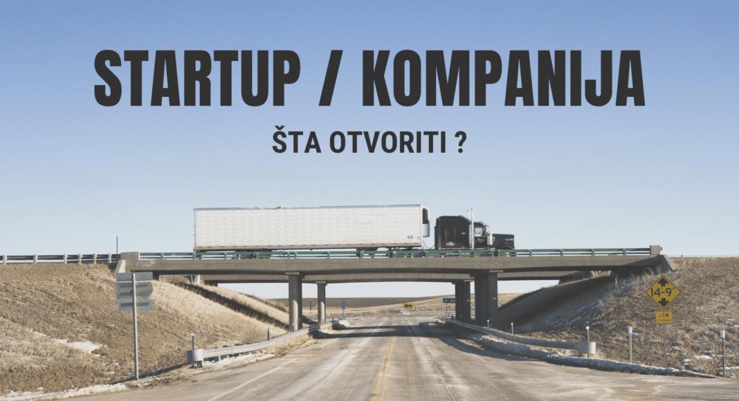 Razlike između startupa i kompanije